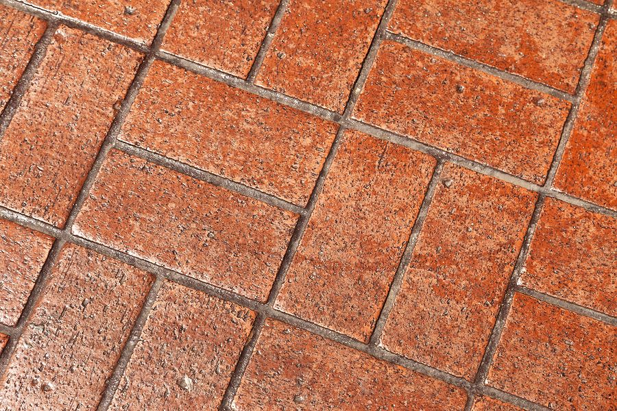 Paver pressure washing cleaning and sealing