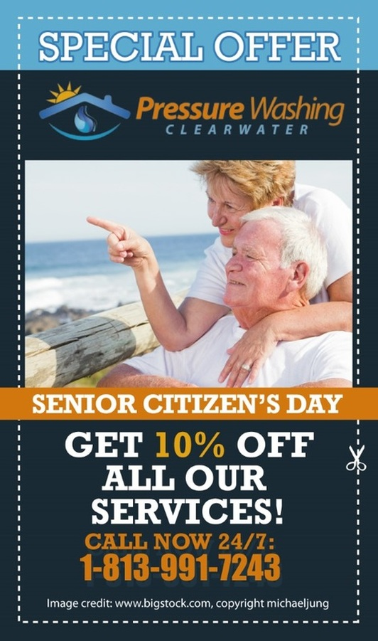 Senior Citizen's Day special offer