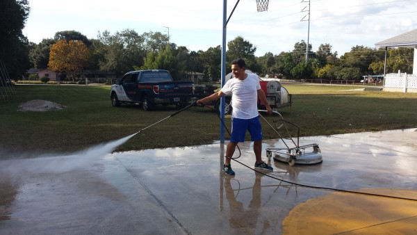 DPI Pressure Washing at Los Caminos Head Start Center in Clearwater
