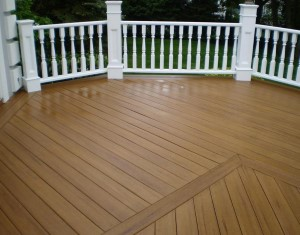 Tampa Pressure Washing Patio and Deck - After picture
