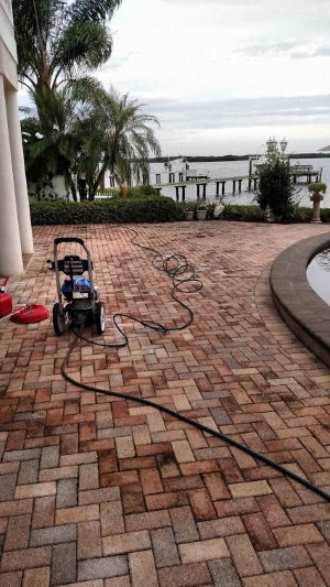 Tampa Paver Sealing and Pressure Washing - Work picture