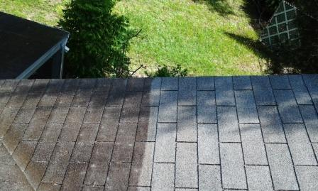Cleaning roofs with a pressure washer: Its pros and cons