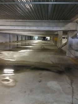 Tampa Pressure Washing Garage - After picture