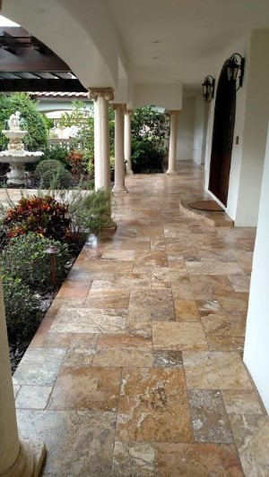 Tampa Pressure Washing and Paver Sealing - After picture