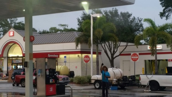 DPI Pressure Washing & Window Cleaning Commercial gas station cleaning