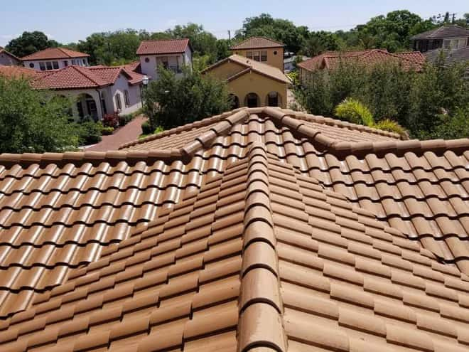 DPI Pressure Washing roof softwashing services