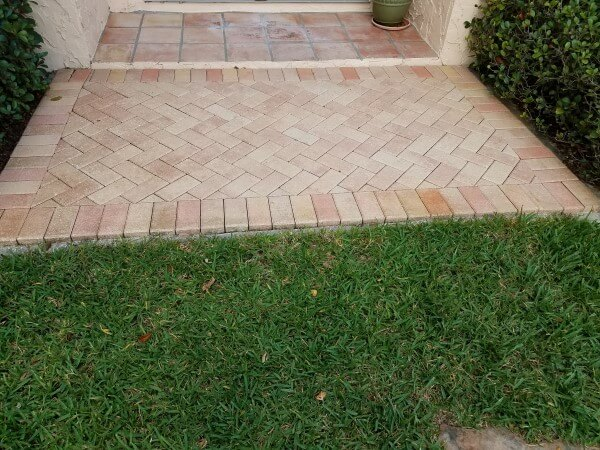 entrance belleair before nanotech sealer