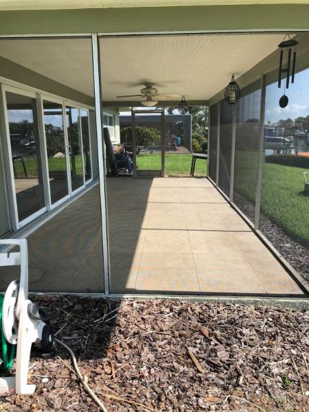 Sidewalk cleaning in Clearwater done by DPI Pressure Washing LLC