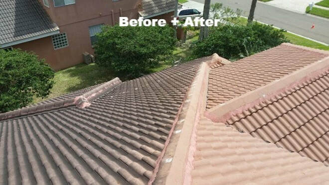 how-to pressurewash or softwash a roof