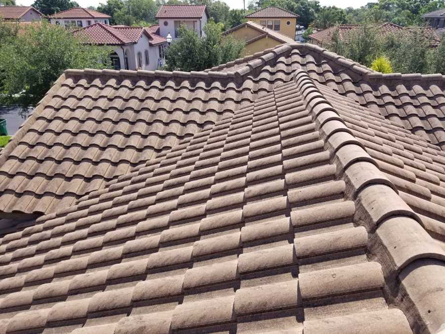 roof cleaning tampa tiled roof process