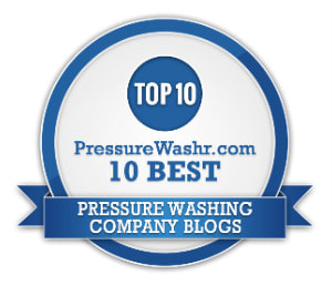 DPI Pressure Washing certificate being one of the best blogs in the pressure washing industry online.